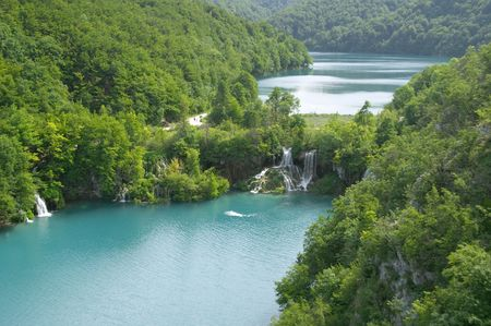 Plitvice lake (Plitvicka jezera) natural national park, Croatia