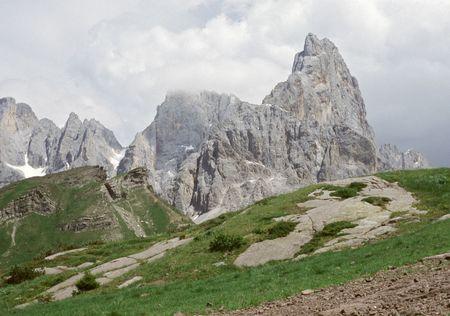 Dolomites mountain in summer, Italy