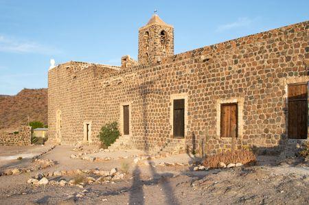 santa rosalia: Mulege mission, Baja California, Mexico Stock Photo