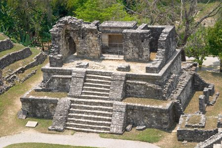Temple XIV, Palenque archaeological site, Mexico