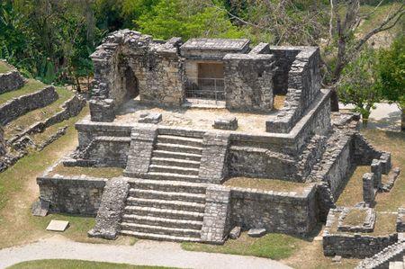 Temple XIV, Palenque archaeological site, Mexico