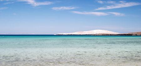 Tropical beach at Topolobampo, Baja California, Mexico