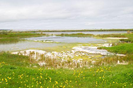 aran islands: Islas Aran paisaje, Irlanda