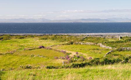 aran islands: Islas Aran paisaje, Inis Se�or, Irlanda