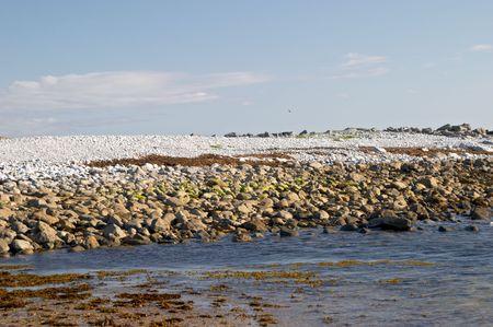 aran islands: Coast of Inis M�r, Aran islands, Ireland Stock Photo