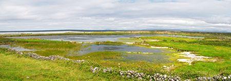 aran islands: Paisaje de las islas de Aran, Irlanda