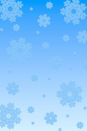 Snowflakes paper background Stock Photo
