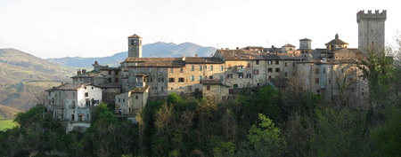 piacenza: Vigoleno, Piacenza, Italy