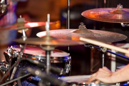 cymbal: Drumset Stock Photo
