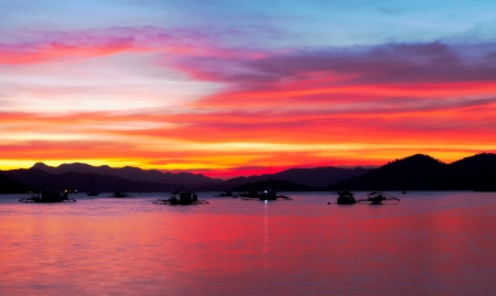 coron: Evening at the Coron Bay