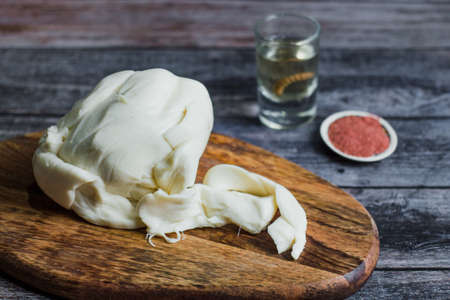 Oaxaca Chesse or queso oaxaca or quesillo is a Mexican fresh white Chesse from Mexico