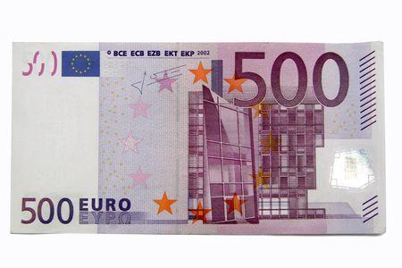 billets euros: cinq cents euros  Banque d'images