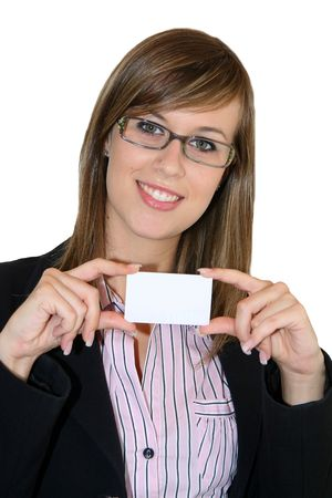 Young Business Girl Stock Photo - 3208389