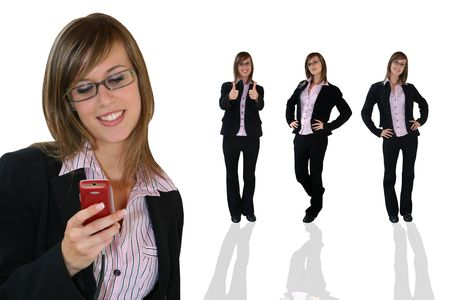 Young Businesswoman photo
