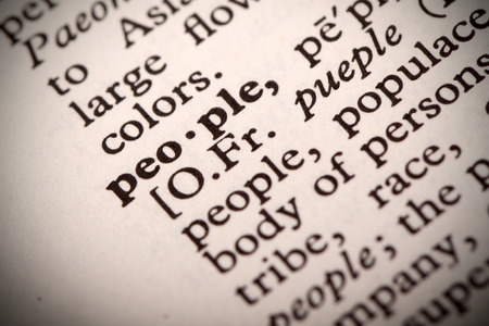 syntax: People Definition