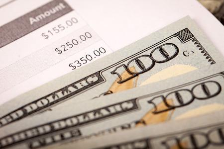 Dollar Photography: US Hundred Dollars Bill Macro photo