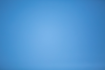 bluey: truly blue sky without clouds Stock Photo