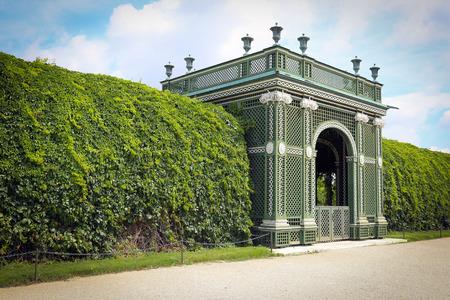 schonbrunn palace: Garden Park of Schonbrunn Palace, Vienna, Austria Editorial
