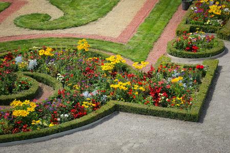 st  francis: Garden Park of Schonbrunn Palace, Vienna, Austria Editorial