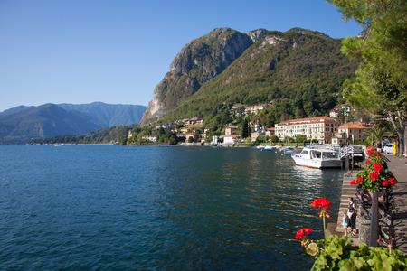 lake como: Lake Como Photography: View of Menaggio in Summer