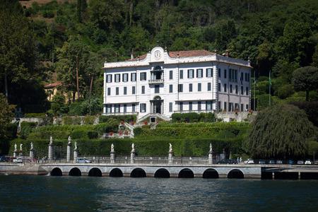 lake como: Villa Carlotta in Tremezzo, Comomeer, Italië Redactioneel