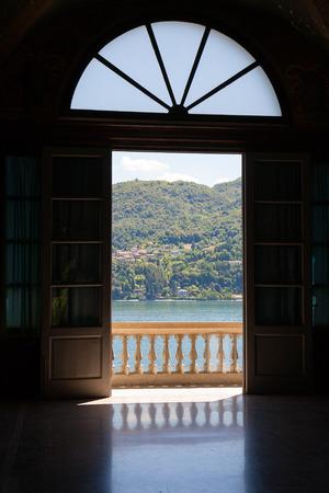 Villa Carlotta in Tremezzo, Lake Como, Italy photo