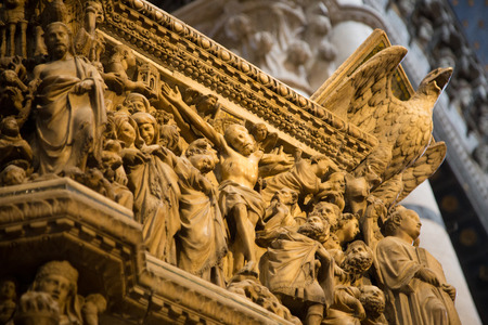 siena: Interior of Siena Cathedral in Tuscany, Italy