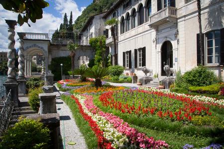 lake como: Villa Monastero in Varenna, Lake Como, Italy Editorial