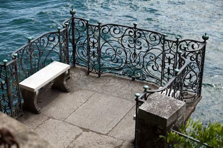 lake como: Villa Monastero in Varenna, Lake Como, Italy Redactioneel