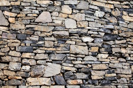 古い建築の素朴な壁。完全なフレーム
