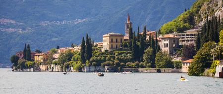 lake como: Town of Varenna in Lake Como, Italy