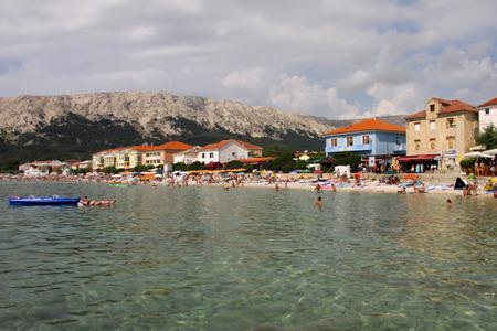 krk: Baska on Island Krk in Croatia, Europe Editorial