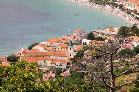 krk: Baska on Island Krk in Croatia, Europe Stock Photo