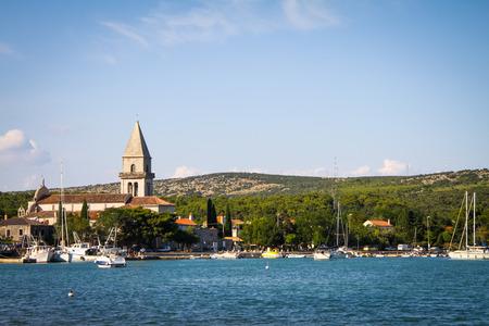 krk: Island of krk on the north Adriatic Sea, Croatia. Editorial