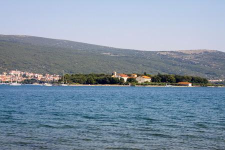 krk: Island of krk on the north Adriatic Sea, Croatia. Stock Photo