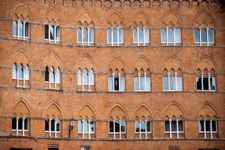campo: Piazza del Campo in Siena, Tuscany, Italy