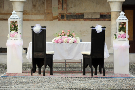 wedding chairs: Wedding Chairs Covers in a Wedding Day
