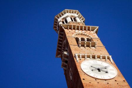 verona: Lamberti Tower in Verona, Italy