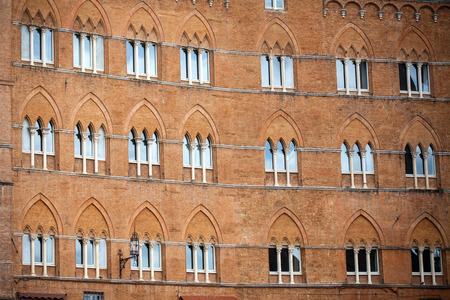 siena: Piazza del Campo in Siena, Tuscany, Italy