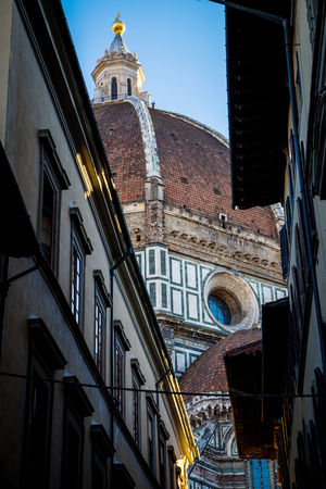 View on Duomo in Florence, Tuscany, Italy. Stock Photo