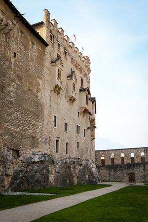 Castello del Buonconsiglio, Trento. Trentino Alto Adige, Italy
