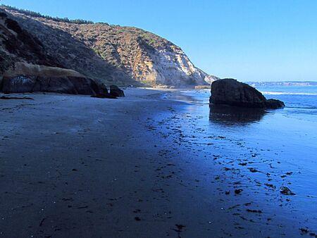 Maitencillo, a beautiful big beach in the central coast of Chile