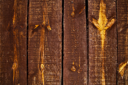 Old wooden door detail and background texture photo