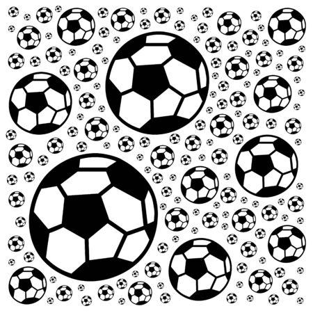 Soccer ball pattern Foto de archivo - 134866950