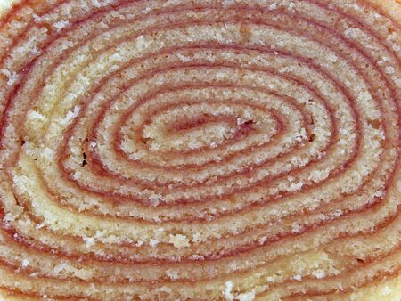 Traditional guava roll cake