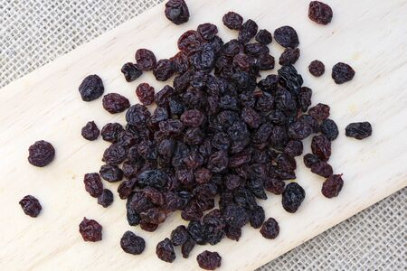 A portion of raisins