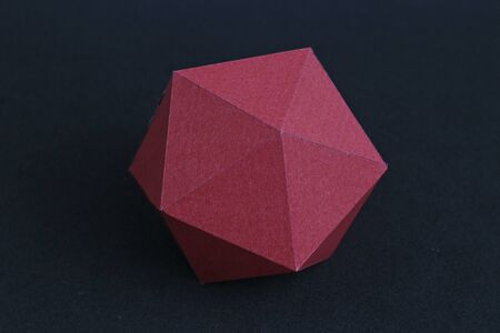 Regular polyhedron of twenty faces. Icosahedron