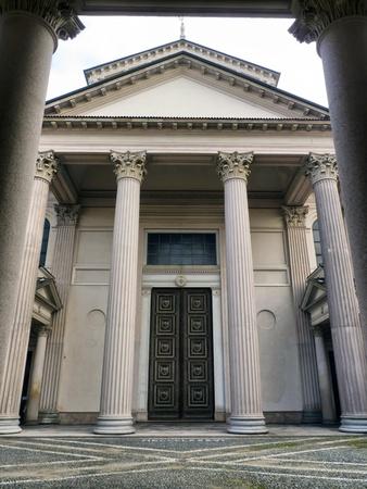 neocl�sico: arquitectura neocl�sica, la Catedral de Novara, Italia Editorial