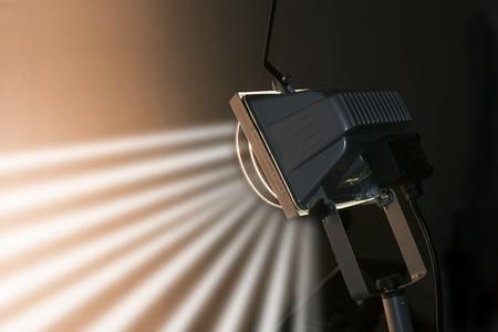 stripbox: graphic illumination concept, studio light close up  Stock Photo