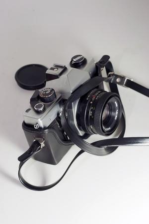 reflex: vecchia macchina fotografica reflex slr dagli anni Ottanta